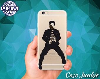 Elvis Jailhouse Rock Dance Toes Classic iPhone 5 iPhone 5C iPhone 6 iPhone 6 + iPhone 6s iPhone 6s Plus iPhone SE iPhone 7 Plus Clear Case