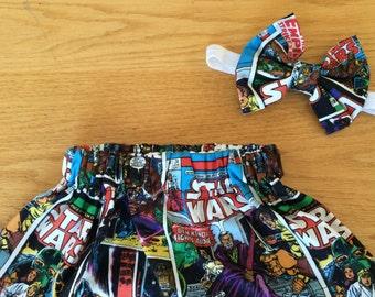 Star Wars skirt set