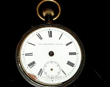 Swiss Pocket watch movement Non Magnetic Lever . For spare or repair