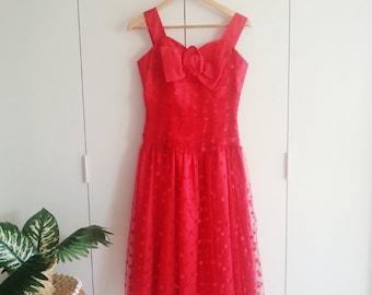 SALE - Vintage Dress - Retro Fashion - Vintage Clothing - 80s - 80s Fashion