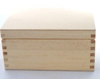 Wooden Box. Gift Box, Keepsake Box Memory, Wood Gift Box, Treasure Chest , Jewelry Box, Recycled Wooden Box, Anniversary Box, Trinket Chest