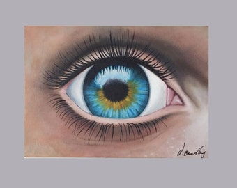The Eye Oil Painting