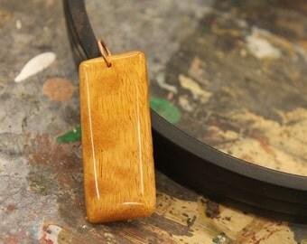 Unique Handcrafted Wooden Pendant
