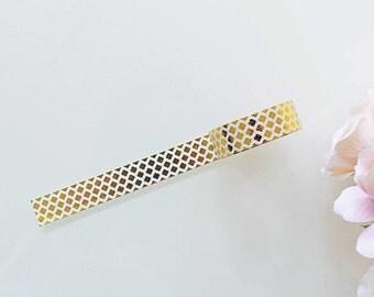 Gold Foil Washi Tape GFWT05