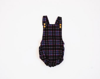 Plaid Romper