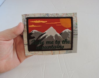 Take Me To The Mountains Patch