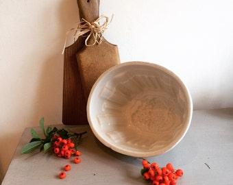 Vintage Ceramic Jelly mould
