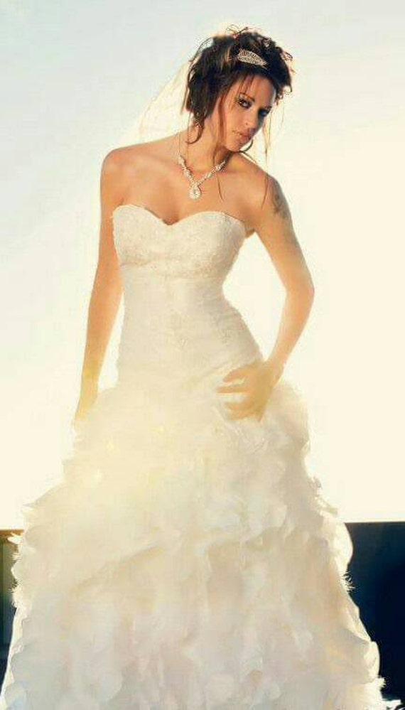 Vintage Wedding Dress Ca : Vintage wedding dress size ivory by vintageinmydreams