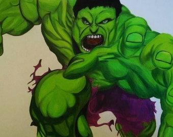 The Hulk Drawing