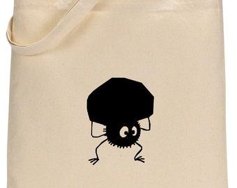 Studio Ghibli Soot Sprite Tote Bag
