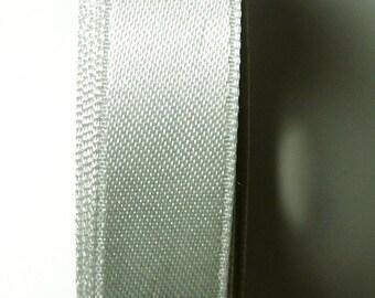 30 meters Satin ribbon 6mm Pearl Grey