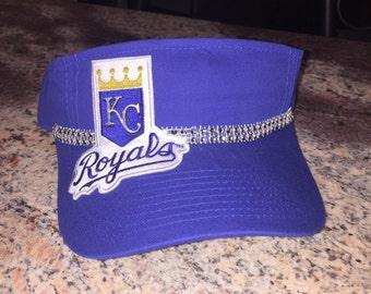 Kansas City Royals Custom Bling Visor