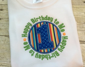 First Birthday shirt boy - First Birthday outfit boy - 1st birthday boy - 1st birthday boy outfit - Birthday bodysuit- Cake smash outfit