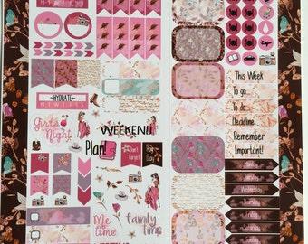 Autumn Memories Personal Planner Sticker Kit: