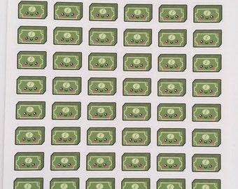 Kawaii Money Stickers : B38