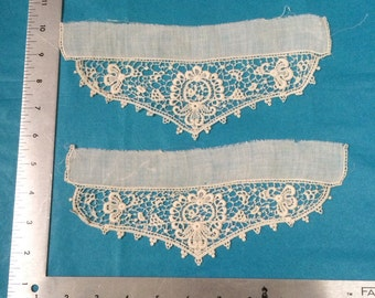 Antique Victorian lace cuffs