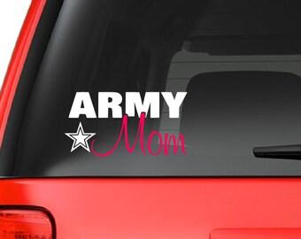 Army Mom (M33) Vinyl Decal Sticker Car/Truck Laptop/Netbook Window