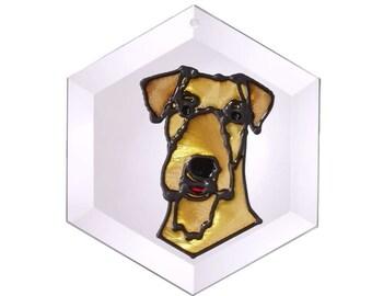 Airedale Terrier Sun Catcher