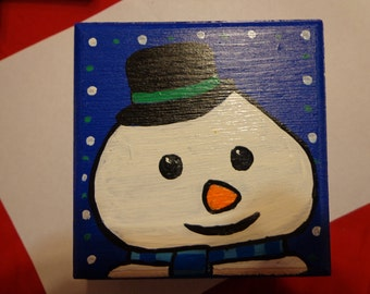 Handpainted Chilly from Doc McStuffins wooden trinket box