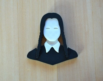 Brooch Wednesday (Wednesday) family Addams