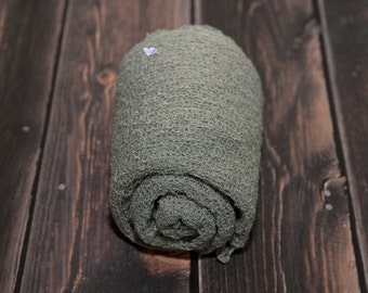 Artichoke Stretch Knit Wrap,Newborn Wrap,Newborn Photo Prop,Newborn Stretch Wrap,Photography Prop,Baby Wrap,Newborn Photography,Stretch Wrap