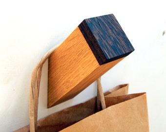 Oak & Venge Wall Hook, Wooden Coat Hook, Coat Rack, Modern Wooden Hook, Home Decor, Decorative Branches, Accessorize