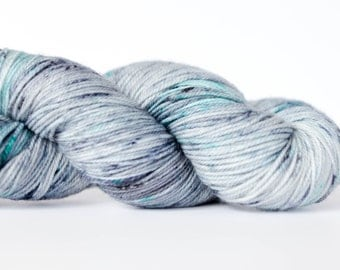 "Toesty MCN Sock Yarn - Hand-dyed - ""Brackish Waters"""