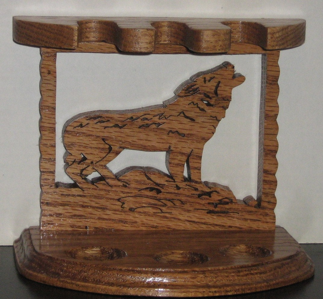 Wolf Chimney Vent ~ Wolf pipe holder