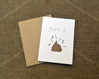 FUNNY Greeting Card!