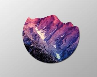 Mountain Landscape Cutout Artwork (Digital Download 8.5x11)