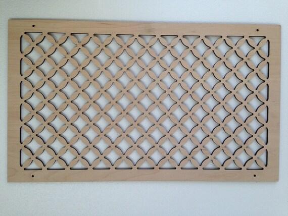 Items Similar To Decorative Vent Cover Hvac Register Laser Cut Maple Veneer On Etsy