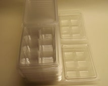 Wax Melt packaging 6 Cavity Clamshell mould