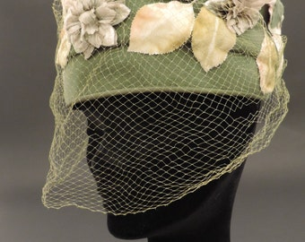 30 's Stetson hat with veil