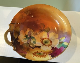 Antique Hand Painted Nippon Bowl