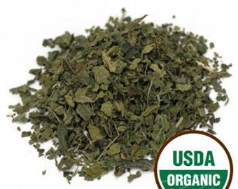 ORGANIC NETTLE LEAF Herb, Aka Stinging Nettle. Teas, Brews, Supplements, Rituals.  Sold by weight.