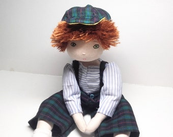 Rag doll sewing pattern boy – Instand PDF download in English – Number 18