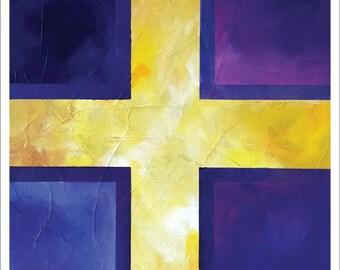 "Painting – 8""x10"" – MEDITATION 2"