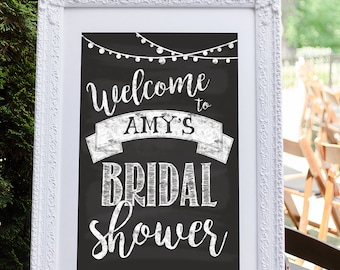 Bridal Shower Welcome Sign, Bridal Shower Sign, Engagement Party Decoration, Wedding Shower Decoration, Bridal Shower Decoration
