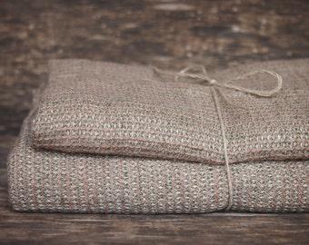 Set of 2 Linen Bath Towels, Eco Linen Towel, Linen Towel, Linen Gift
