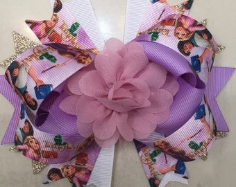 Tangled hairbow