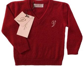 Virkotie CHERRY 100% Cashmere Sweater