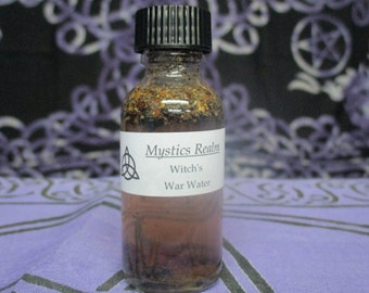 War Water ~ Witchcraft War Water ~ Witch's War Water ~ Voodoo War Water ~ Black Magick War Water ~ Witchcraft Supplies ~ Wicca Supplies