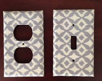 MADE TO ORDER single switchplates and outlet covers