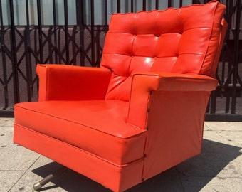Vintage Orange Chair