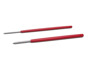Red Handled Burnishers, Set of 2, 6-1/4 Inches | BRN-150.00