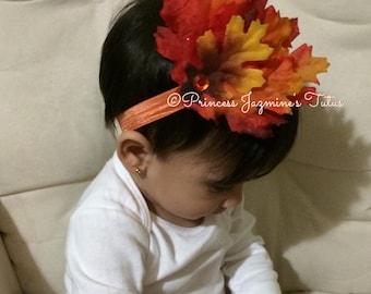 Thanksgiving fall headband