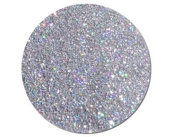 Ultra Fine Glitter Holographic: Centauri Silver