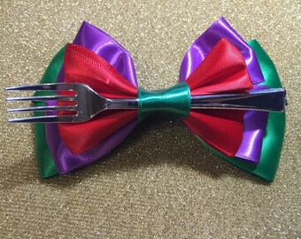 Little mermaid inspired bow