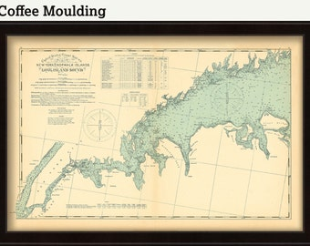 0481-Long Island Sound Nautical Chart - New York to Norwalk Islands
