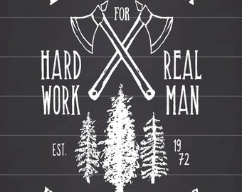 Lumber Jack, Metal Sign,  No.787
